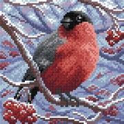"""Набор для выкладывания мозаики Brilliart (от МП Студии) """"Снегирь"""""""