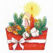 """Набор для вышивания крестом Риолис """"Новогоднее письмо"""""""
