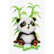 """Канва/ткань с нанесенным рисунком М.П. Студия """"Малыш-панда"""""""