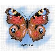 "Канва/ткань с нанесенным рисунком М.П. Студия ""Бабочка. Павлиний глаз"""