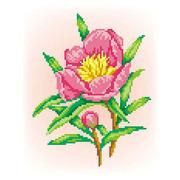 """Канва/ткань с нанесенным рисунком М.П. Студия """"Радость"""""""