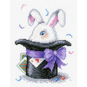 """Канва с нанесенным рисунком М.П. Студия """"Волшебный кролик"""""""