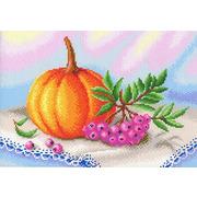 """Канва с нанесенным рисунком М.П. Студия """"Осенние дары"""""""