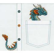 """Набор для вышивания крестом Жар-птица (от МП-Студии) """"Благородный дракон"""""""