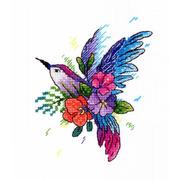 """Набор для вышивания крестом Жар-птица (от МП-Студии) """"Райская птичка"""""""