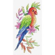 """Набор для вышивания крестом Жар-птица (от МП-Студии) """"Попугай"""""""