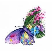 """Набор для вышивания крестом Жар-птица (от МП-Студии) """"Цветочный полет"""""""