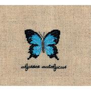"""Набор для вышивания крестом Le Bonheur Des Dames """"Бабочка Улисс"""""""