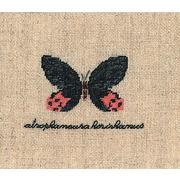 """Набор для вышивания крестом Le Bonheur Des Dames """"Бабочка Артрофанера"""""""
