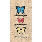 """Набор для вышивания крестом Le Bonheur Des Dames """"Бабочки Улисс, Цимотис, Дардан"""""""