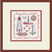 """Набор для вышивания крестом Le Bonheur Des Dames """"Парус по ветру (красный)"""""""