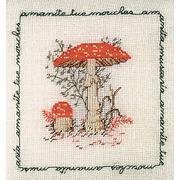 """Набор для вышивания крестом Le Bonheur Des Dames """"Мухомор красный"""""""