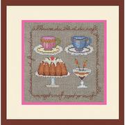 """Набор для вышивания крестом Le Bonheur Des Dames """"Время чая"""""""