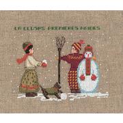 """Набор для вышивания крестом Le Bonheur Des Dames """"Cнеговик"""""""