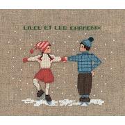 """Набор для вышивания крестом Le Bonheur Des Dames """"Два танцора на льду"""""""