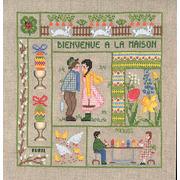 """Набор для вышивания крестом Le Bonheur Des Dames """"Добро пожаловать Апрель"""""""