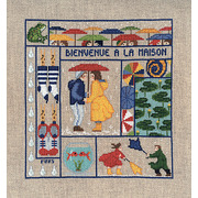 """Набор для вышивания крестом Le Bonheur Des Dames """"Добро пожаловать Март"""""""
