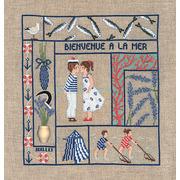 """Набор для вышивания крестом Le Bonheur Des Dames """"Добро пожаловать Июль"""""""