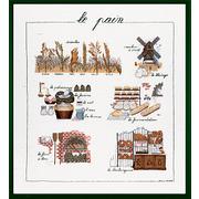 """Набор для вышивания крестом Le Bonheur Des Dames """"Хлеб"""""""