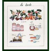 """Набор для вышивания крестом Le Bonheur Des Dames """"Пирог"""""""