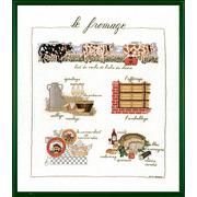 """Набор для вышивания крестом Le Bonheur Des Dames """"Сыр"""""""
