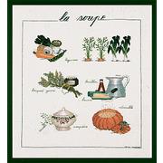 """Набор для вышивания крестом Le Bonheur Des Dames """"Суп"""""""