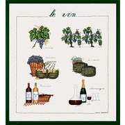 """Набор для вышивания крестом Le Bonheur Des Dames """"Вино"""""""