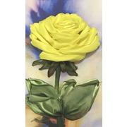 """Набор для вышивания лентами Каролинка """"Желтая роза"""""""