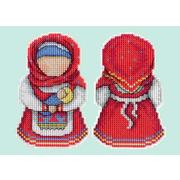 """Набор для вышивания крестом Жар-птица (от МП-Студии) """"Оберег. Материнство"""""""