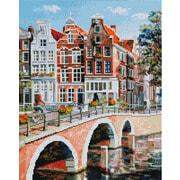 """Набор для выкладывания мозаики Белоснежка """"Императорский вокзал в Амстердаме"""""""