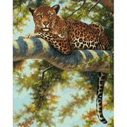 """Набор для раскрашивания Белоснежка """"Леопард в тени ветвей"""""""