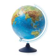 Globen Интерактивный физико-политический рельефный с подсветкой (батарейки) 320