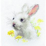 """Набор для вышивания крестом Алиса """"Белый Крольчонок"""""""