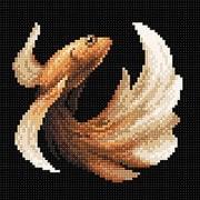 """Набор для выкладывания мозаики Brilliart (от МП Студии) """"Рыбка золотая"""""""