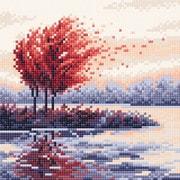 """Набор для выкладывания мозаики Brilliart (от МП Студии) """"Красная осень"""""""