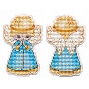 """Набор для вышивания крестом Овен """"Новогодняя игрушка. Ангел"""""""