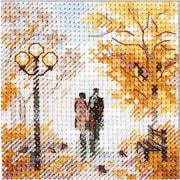 """Набор для вышивания крестом Алиса """"Осень в городе. Старый парк"""""""