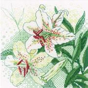 """Набор для вышивания крестом Риолис """"Белые лилии"""""""