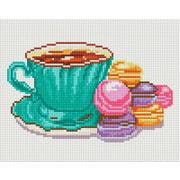 """Набор для выкладывания мозаики Белоснежка """"Кофе и макаруны"""""""