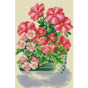 """Набор для выкладывания мозаики Белоснежка """"Милые цветы"""""""