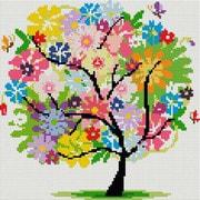 """Набор для выкладывания мозаики Белоснежка """"Древо весны"""""""
