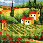 """Набор для выкладывания мозаики Белоснежка """"Сельский пейзаж"""""""