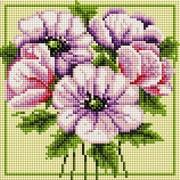 """Набор для выкладывания мозаики Белоснежка """"Чудесные цветы"""""""