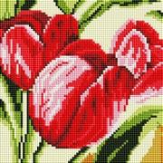 """Набор для выкладывания мозаики Белоснежка """"Тюльпаны"""""""