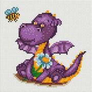 """Набор для выкладывания мозаики Белоснежка """"Маленький динозаврик"""""""