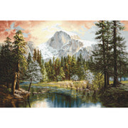 """Набор для вышивания крестом Luca-S """"Величие природы"""""""