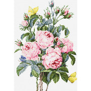 """Набор для вышивания крестом Luca-S """"Букет роз"""""""