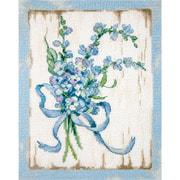 """Набор для вышивания крестом Letistitch """"BLUE I"""""""