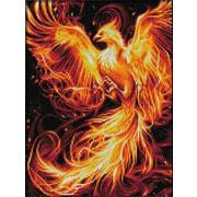 """Набор для выкладывания мозаики Алмазная живопись """"Огненный феникс"""""""