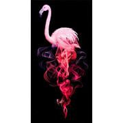 """Набор для выкладывания мозаики Алмазная живопись """"Фламинго в дыму"""""""